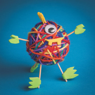One-Eyed Monster Craft Kit