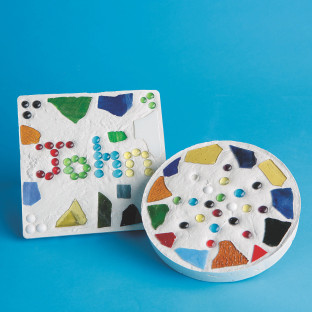 Mosaic Stepping Stone Craft Kit