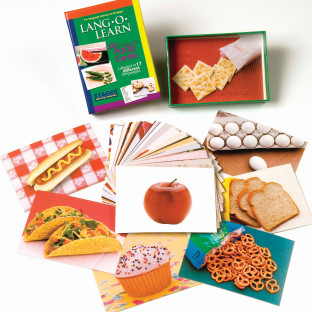 Lang-O-Learn Cards, Food