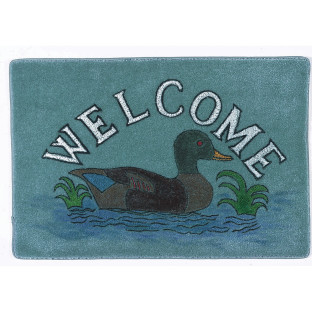 MAT DECORATIVE WELCOME DUCK
