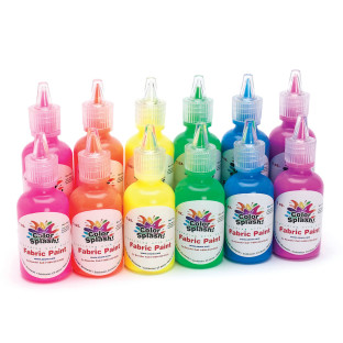 Color Splash!® Fluorescent Fabric Paint 1 oz.
