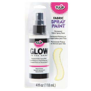 buy tulip glow in the dark fabric spray at s s worldwide. Black Bedroom Furniture Sets. Home Design Ideas