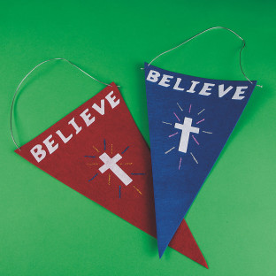 Believe Flag Craft Kit
