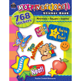 STICKER BOOK MOTIVATIONAL 768 STICKERS