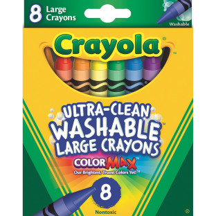 Crayola® Large Washable Crayons