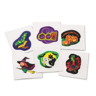 HALLOWEEN TATTOOS PK144