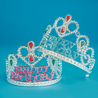 'Happy Birthday' Tiara