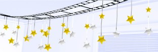 Filmstrip Ceiling Decoration