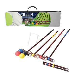 Intermediate Six-Player Croquet Set