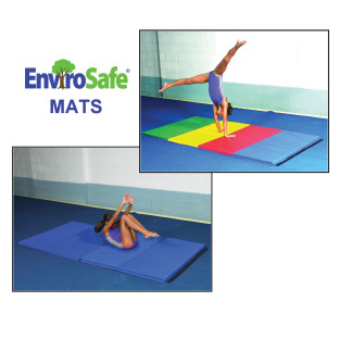 EnviroSafe® 4'x8' Medium Firm Mats