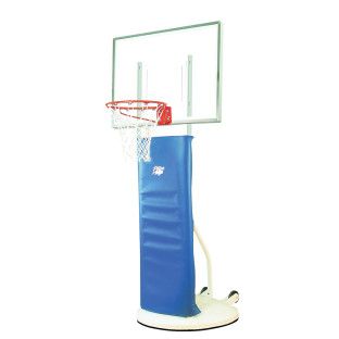 Playtime Portable Basketball System with Clear Backboard