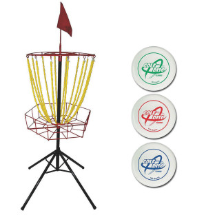 PORTABLE DISC GOLF SET
