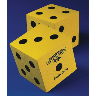 Gator Skin® Softi Dice, Pair