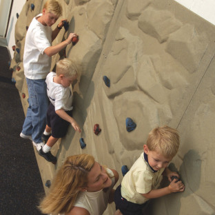 Soft Play® Rock Course Climbing Panel 4x8'
