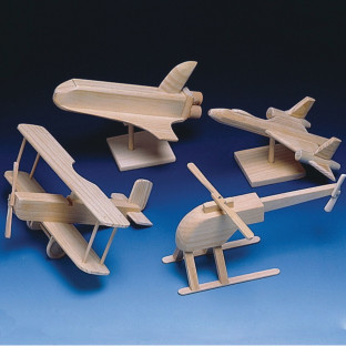 Unfinished Fantasy Flight Assortment, Unassembled