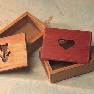 WOOD BOX TULIP 2-1/2W X 1-1/4H