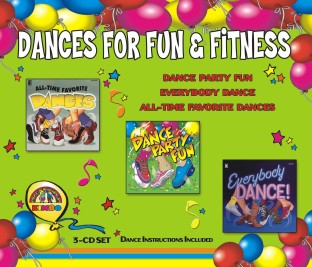 CD DANCE SET KIMBO S3