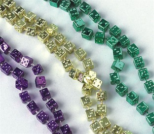 48IN DICE BEADS PK 12