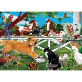 PLAYFUL PETS PUZZLE 30 PIECE