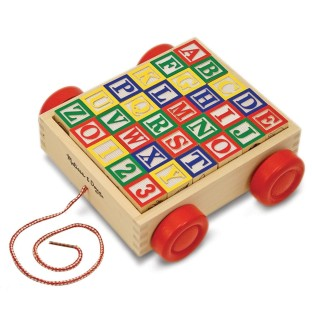 BLOCKS CLASSIC ABC BLOCK CART