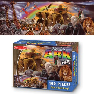 FLOOR PUZZLE NOAHS ARK 100 PC