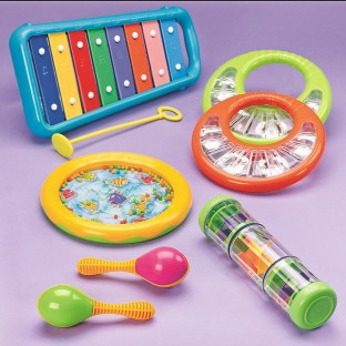 TODDLER 7PC MUSIC INSTRUMENT SET
