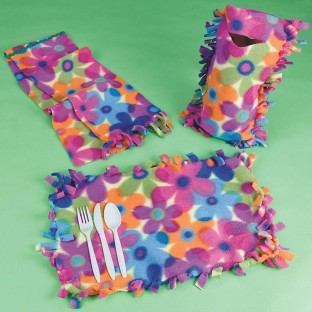 FLEECE CREATIONS KIT PK/12