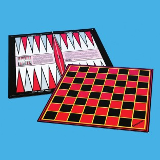 CHESS/CHECKERS BACKGAMMON BOARD