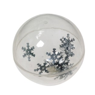 SNOWFLAKE HIGH BOUNCE BALL PK12