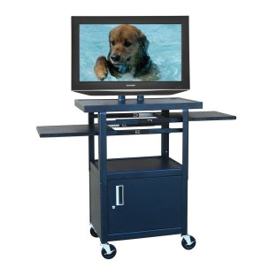 SHARP 26IN TV W/FLAT PANEL AV CART