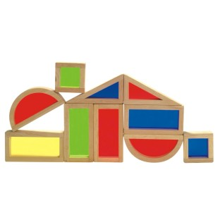 RAINBOW BLOCKS SET OF 10