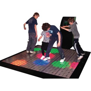 LIGHTSPACE EXERGAME PLAYFLOOR