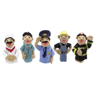 COMMUNITY CHARACTER PUPPETS SET OF 5