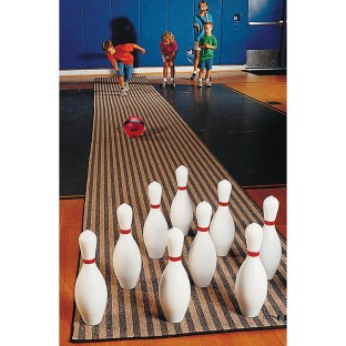 LANE PIN AND 2 -1/2LB BALL BOWLING EASY PACK