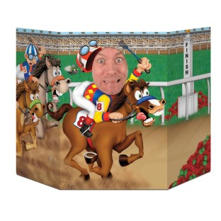 HORSE RACE PHOTO PROP