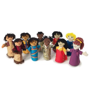 MULTI CULTURAL PUPPETS COLLECTION
