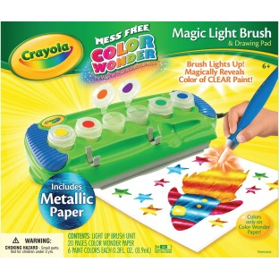 COLOR WONDER MAGIC LIGHT BRUSH SET