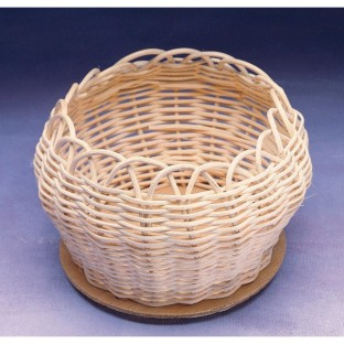 BASKET REED RND 5IN  PK/36