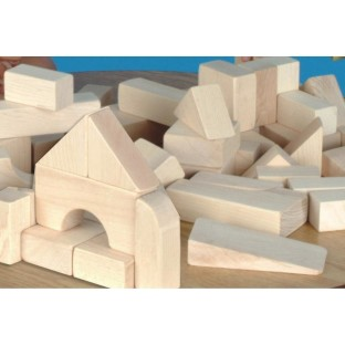 WOOD UNIT BLOCKS 108PC