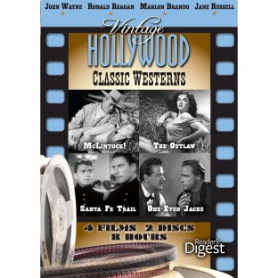 VINTAGE HOLLYWOOD CLASSIC WESTERNS DVD