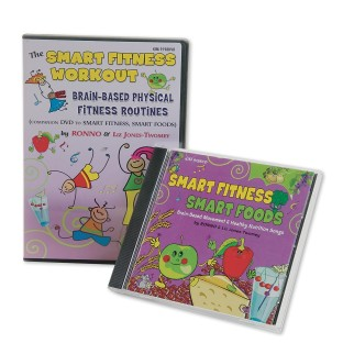 SMART FITNESS CD & DVD SET
