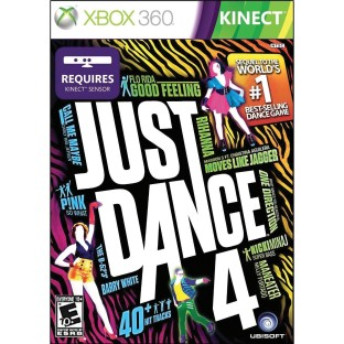 XBOX KINECT JUST DANCE 4
