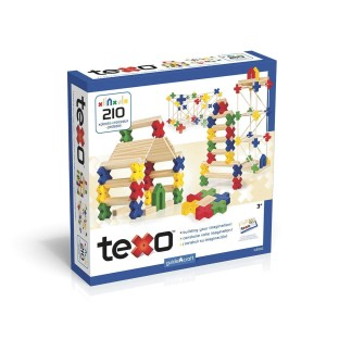 TEXO CONSTRUCTION SET 210 PIECES