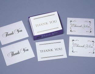 THANK YOU NOTES 6PKS/20CT