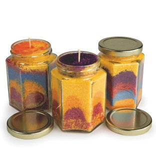 Wax Art Candles