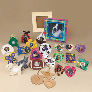 Buy bulk wood frames pack at s s worldwide for Craft picture frames bulk