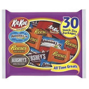 Hershey's Assorted Snack Size Candy Bars