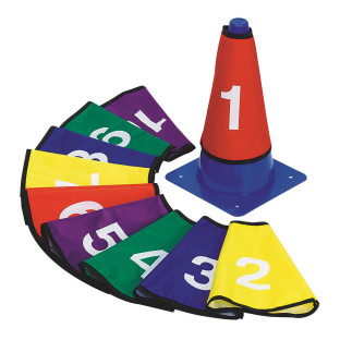 Numbered Cone Covers