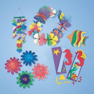 SUMMER LUAU CRAFT EASY PACK