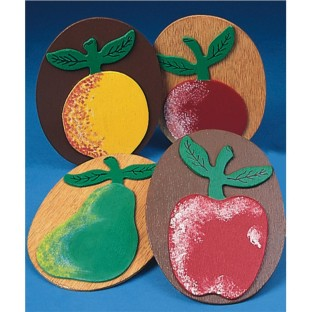 PLAQUES FRUIT WALL PK/24